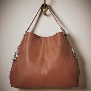 Jewell thirty one brown Slouchy hobo style bag